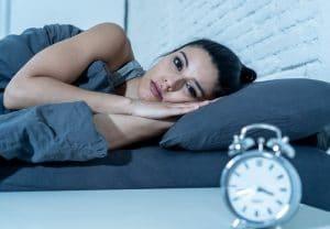 Un tipo de test de alteraciones del sueño es la medición de bio-ritmo de melatonina en saliva.