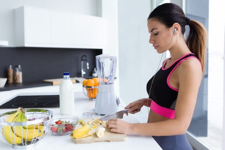 Un entrenamiento con una buena nutrición permite alcanzar mayores intensidades de trabajo y duración del mismo